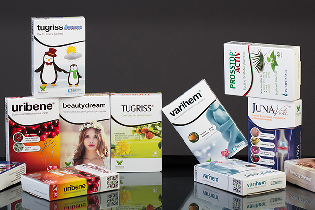 Folding boxes for pharmaceutical products